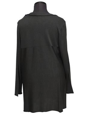 Picture of HP Cardigan nero    in cotone invernale