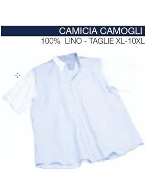Picture of Camicia mezza manica Maxfort CAMOGLI tricolore
