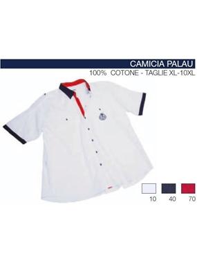 Picture of Camicia mezza manica PALAU Maxfort t.u. ricamo