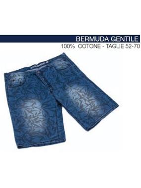 Immagine di Bermuda Maxfort jeans stampa jungla GENTILE
