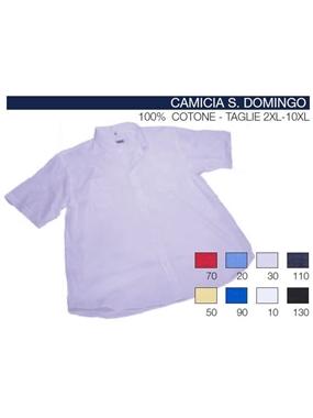 Immagine di Camicia mezza manica Maxfort t.u. doppio tasca SANTO DOMINGO