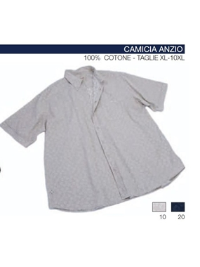 Picture of Camicia mezza manica Maxfort floreale lav silicone ANZIO