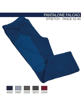 Picture of Pantaloni Falcao Maxfort 5t kanvas ins scozz.