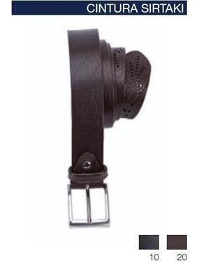 Immagine di Cintura Sirtaki Maxfort cuoio punta operata