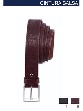 Immagine di Cintura Maxfort Salsa cuoio laserata