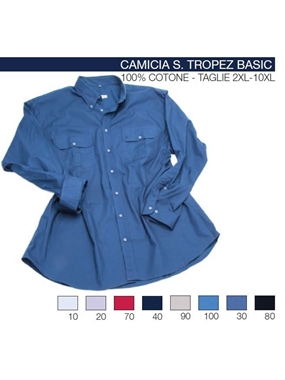 Picture of Camicia S.Tropez manica lunga Maxfort doppio tasca t.u.