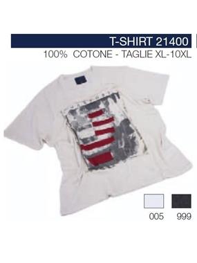 Picture of T-shirt 21400 Maxfort fiammata appl.