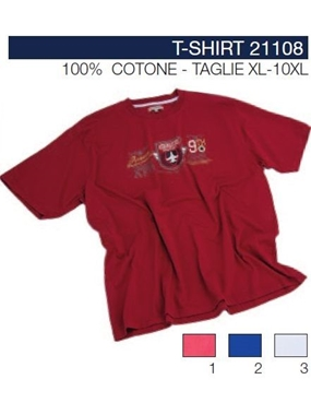 Picture of Tshirt Maxfort stampa petto 21108