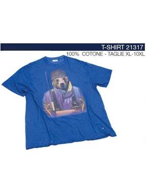 Picture of Tshirt Maxfort stampa animale 21317