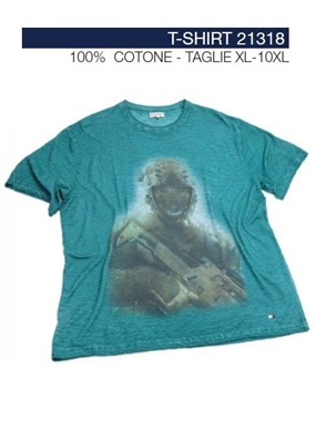 Picture of Tshirt Maxfort stampa orso 21318