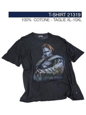 Picture of Tshirt Maxfort stampa cavaliere 21319
