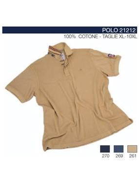 Picture of Polo mezze maniche 21212  Maxfort t.capo ricamo
