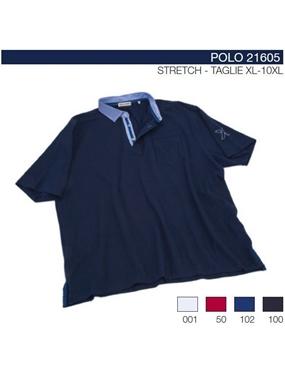 Immagine di Polo mezze maniche 21605 Maxfort collo camicia
