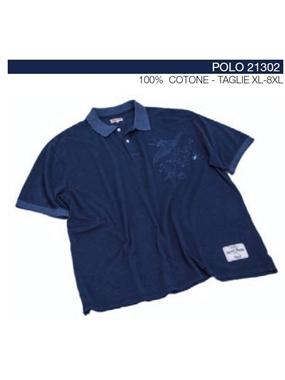 Picture of Polo mezze maniche Maxfort stampa petto indago 21302