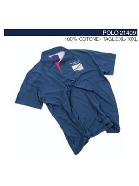Picture of Polo 21409 mezze maniche Maxfort applicazioni petto