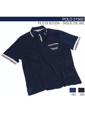 Picture of Polo mezze maniche 21502 Maxfort contrasti
