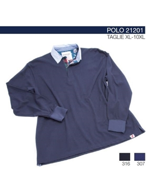 Picture of Polo Maxfort MANICA LUNGA  21201