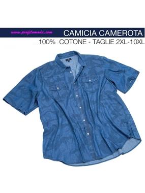 Picture of Camicia mezza manica Maxfort chambrie camouflage