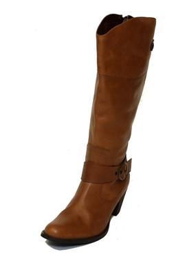 Immagine di Stivale a gamba larga colore beige