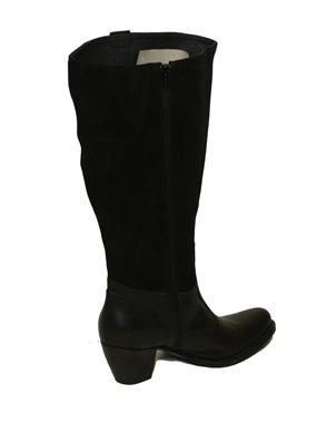 Immagine di Stivale a gamba larga colore nero