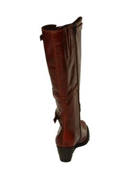 Picture of Stivale a gamba larga colore COGNAC