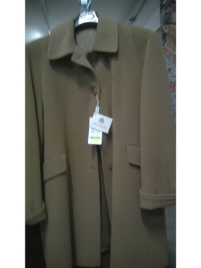 Picture of Giaccone 100% lana vergine  colore Beige