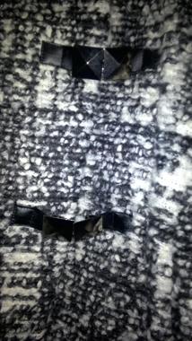 Immagine di Semprepiù Giaccone   colore bianconero salepepe  taglia 52 *ultimo pezzo*